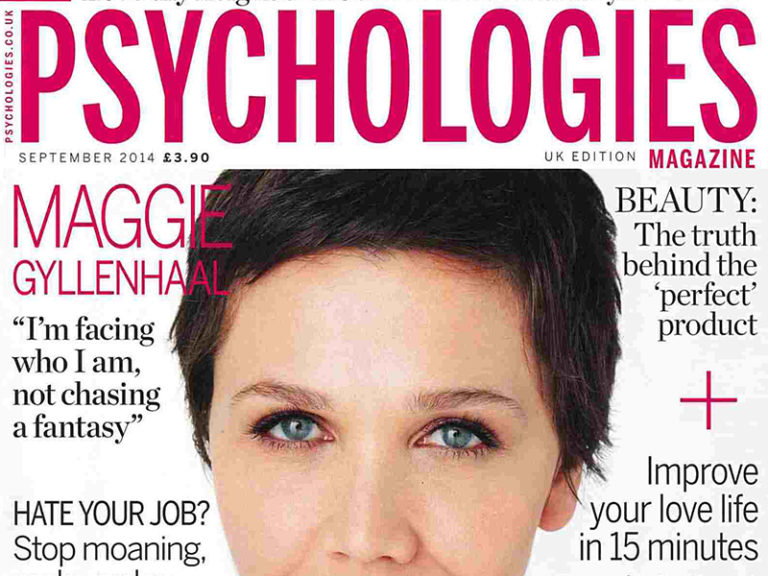 Psychologies Magazine September 2014